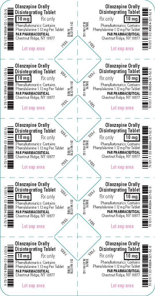 Olanzapine ODT 10 mg - Blister