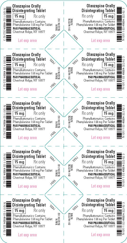 Olanzapine ODT 15 mg - Blister