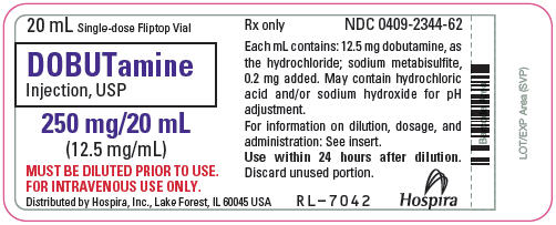 PRINCIPAL DISPLAY PANEL - 20 mL Vial Label - 2344-62