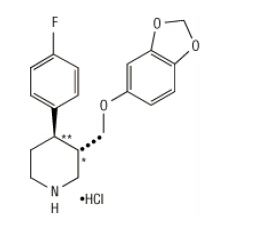Structured formula for Paroxetine