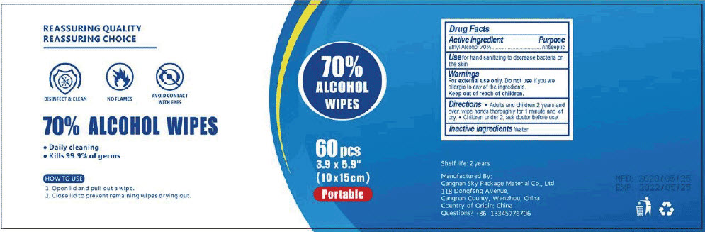 Principal Display Panel - 60 Count Container Label