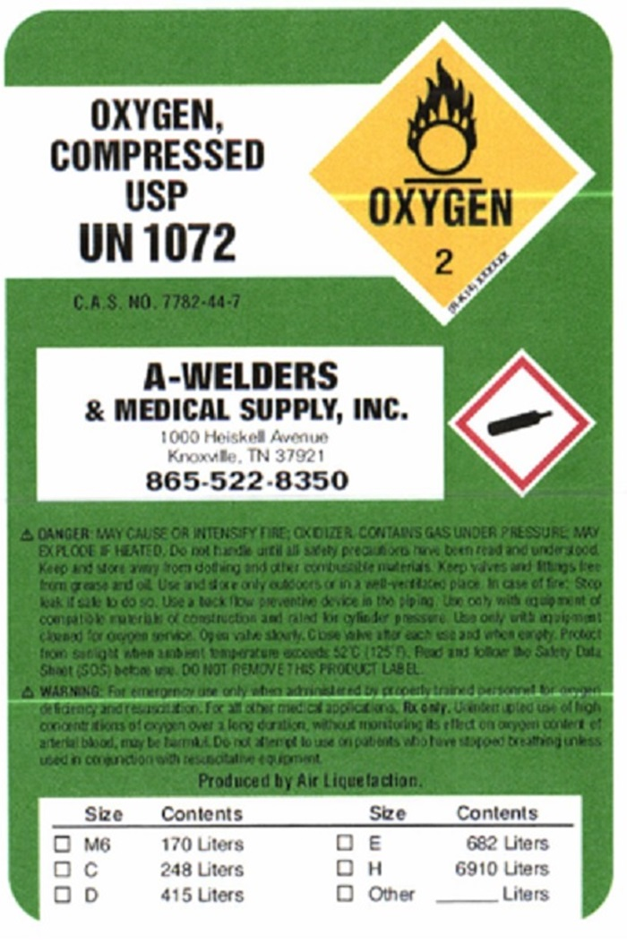 Oxygen Body Label