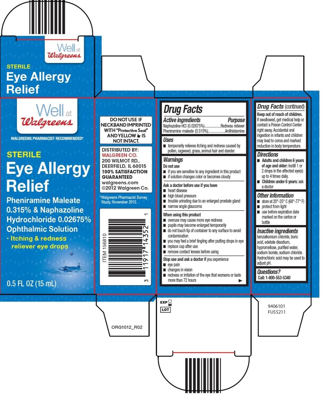 Walgreens Eye Allergy Relief
