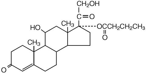 hydrocortisone butyrate structure
