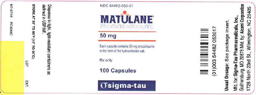 Matulane Bottle Label