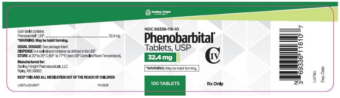 Phenobarbital Tablets 32.4 mg 100 count