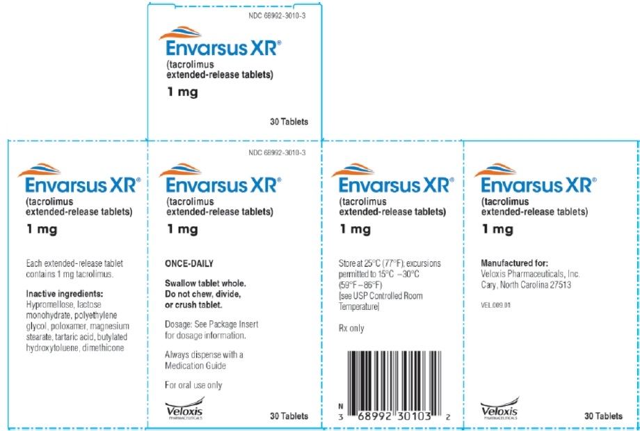 Envarsus 1mg 30 count carton label