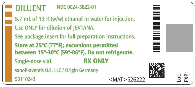 PRINCIPAL DISPLAY PANEL - 5.7 mL Vial Label