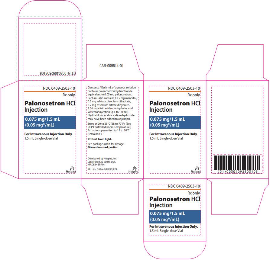 PRINCIPAL DISPLAY PANEL - 1.5 mL Vial Carton