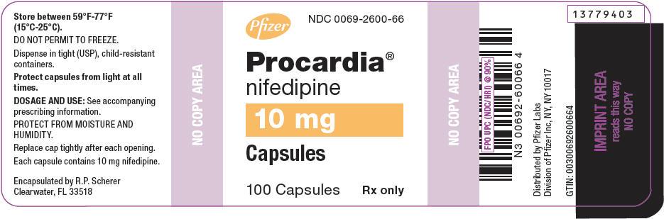 PRINCIPAL DISPLAY PANEL - 10 mg Capsule Bottle Label