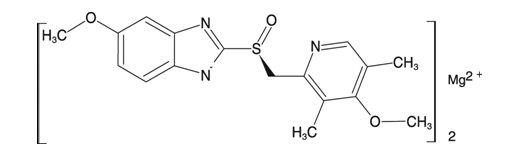 Esomeprazole Magnesium Structural Formula