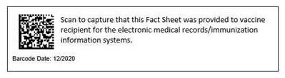 CDC QR code