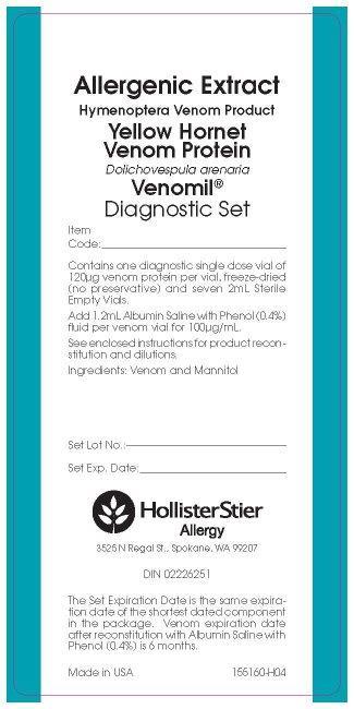 Venomil Yellow Hornet Diagnostic