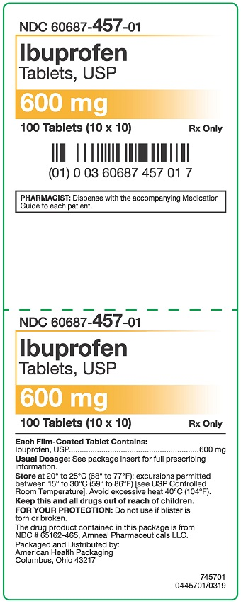 600 mg Ibuprofen Tablets Carton