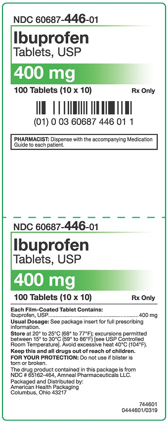 400 mg Ibuprofen Tablets Carton
