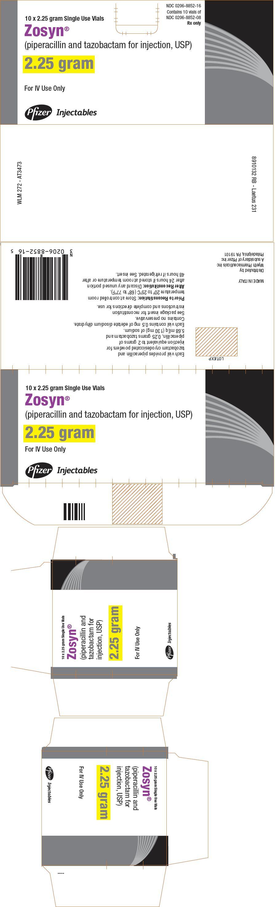 PRINCIPAL DISPLAY PANEL - 2.25 gram Vial Carton