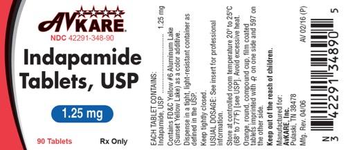 1.25 mg label
