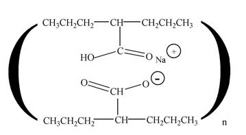 Divalproex Structural Formula