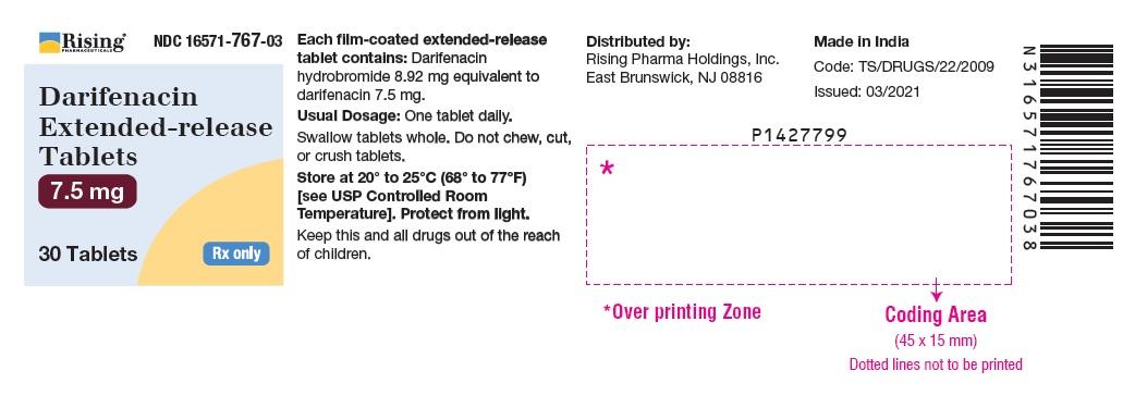 PACKAGE LABEL-PRINCIPAL DISPLAY PANEL - 7.5 mg (30 Tablet Bottle)