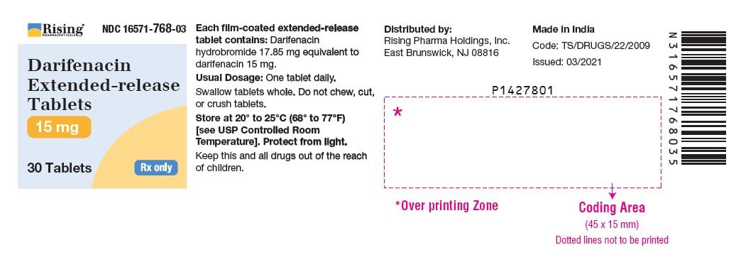 PACKAGE LABEL-PRINCIPAL DISPLAY PANEL- 15 mg (30 Tablet Bottle)