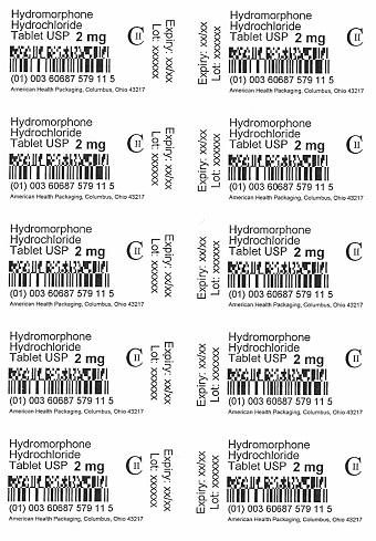 2 mg Hydromorphone Hydrochloride Tablet Blister