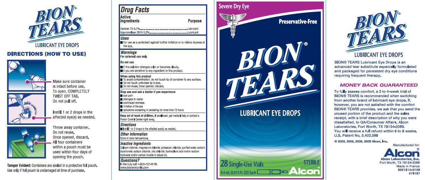 Bion Tear Carton Image