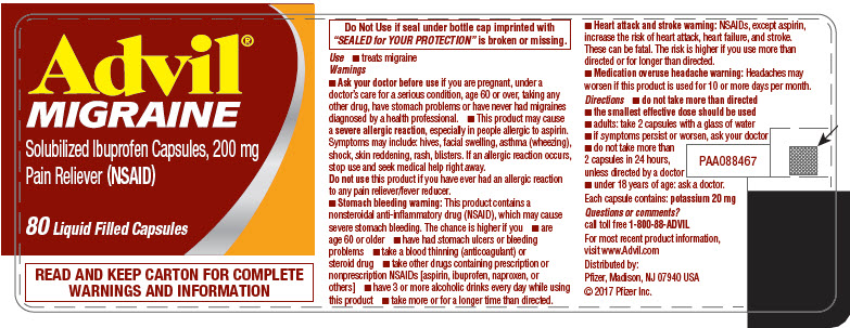 PRINCIPAL DISPLAY PANEL - 80 Capsule Bottle Label