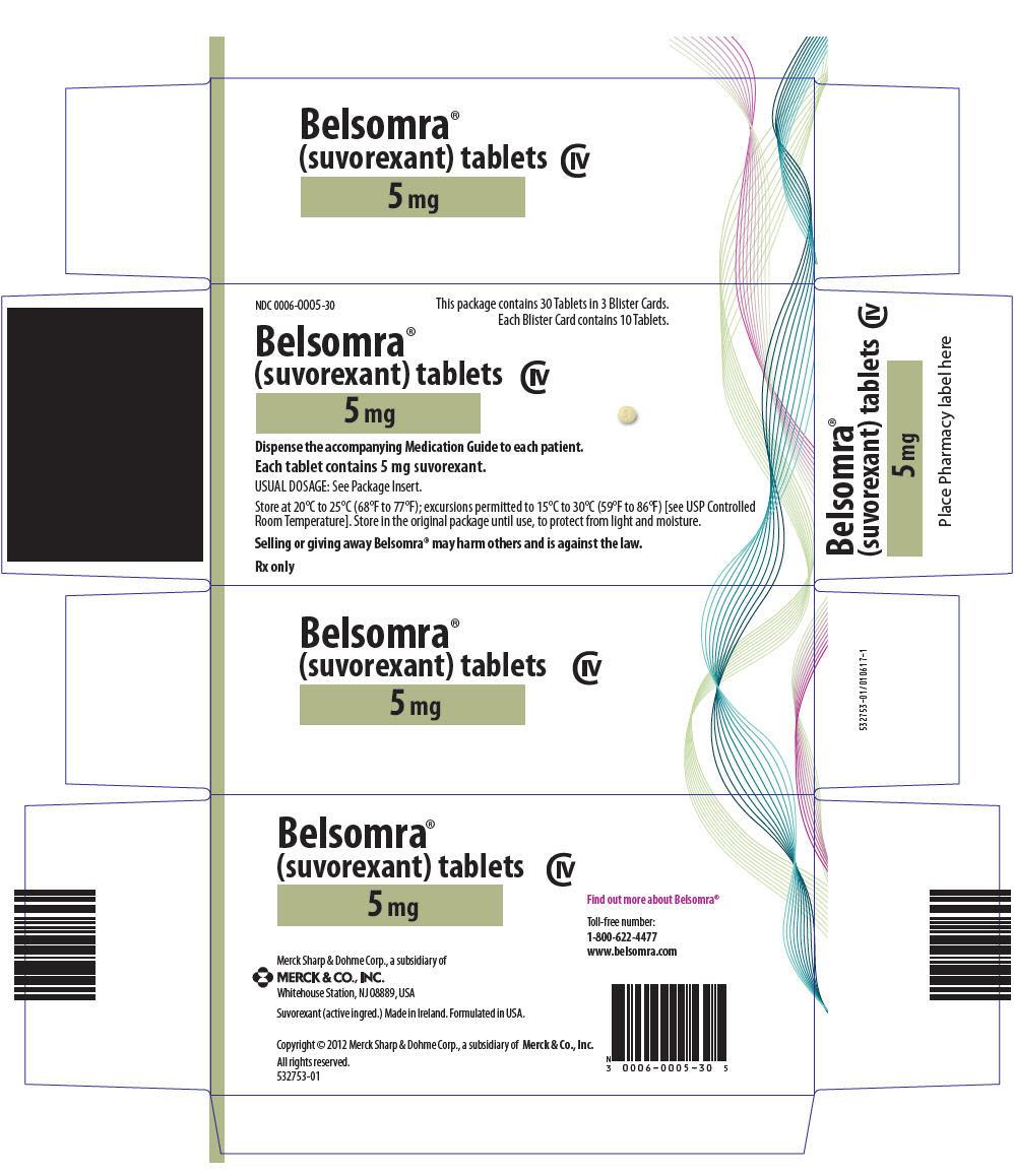 PRINCIPAL DISPLAY PANEL - 5 mg Tablet Blister Card Case Carton