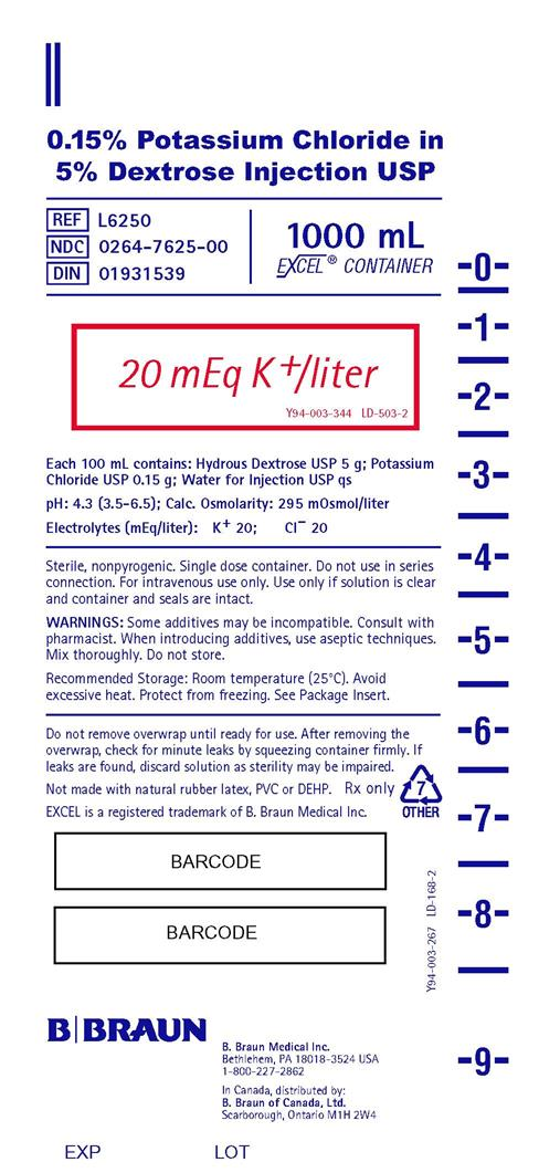 1000 mL Container Label