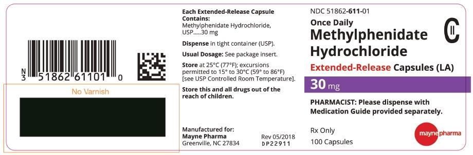 PRINCIPAL DISPLAY PANEL - 30 mg Capsule Bottle Label