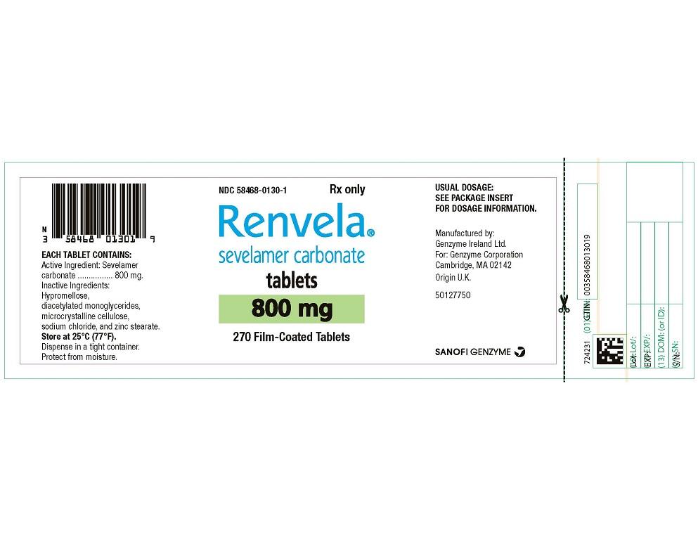 Package Label - Principal Display Panel - 800 mg Tablets, 270 per Bottle