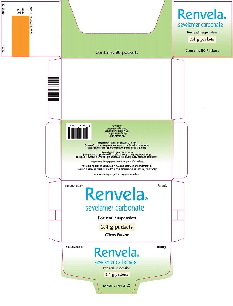 Package Label - Principal Display Panel - 2.4 g Packets, 90 per Carton