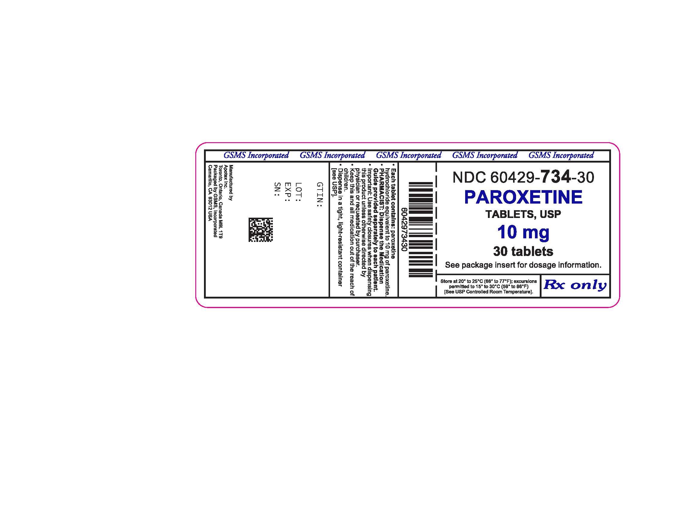 60429-734-30LB - PAROXETINE HCl 10 MG TABS 2.jpg