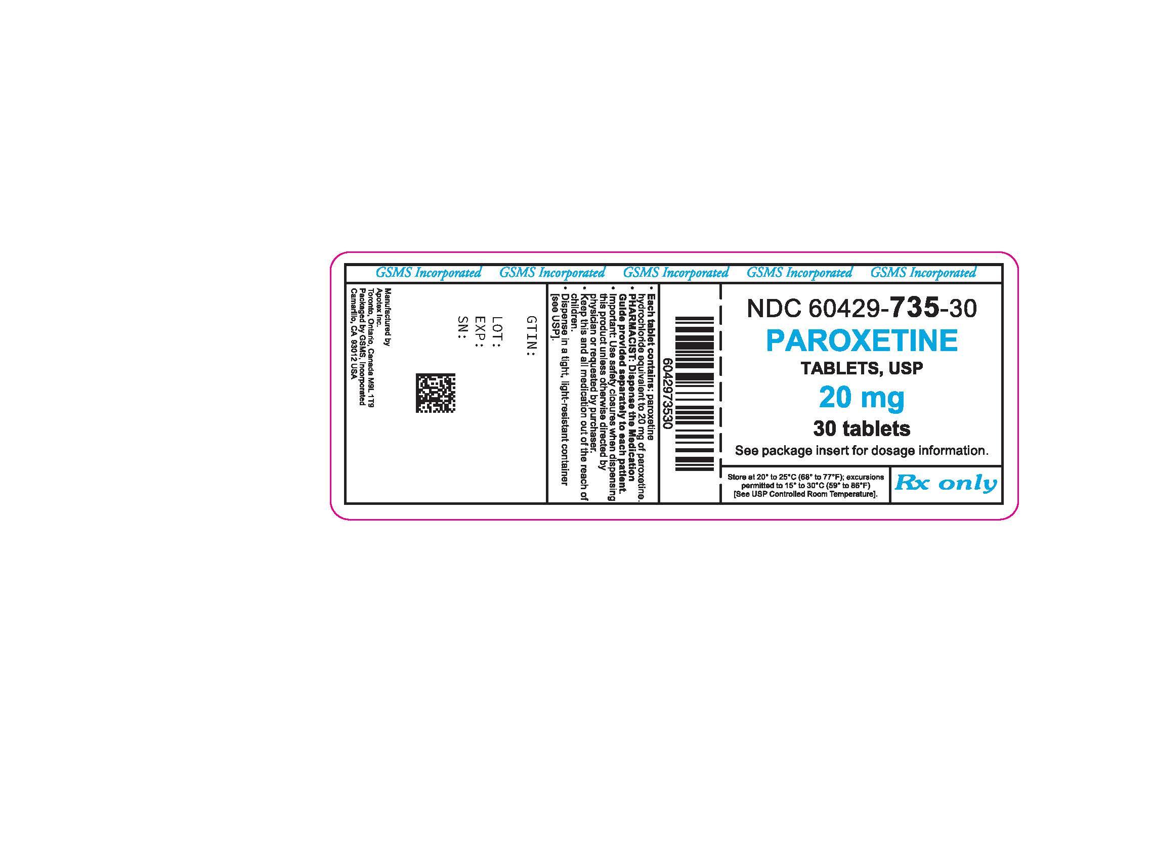 60429-735-30LB - PAROXETINE HCL 20MG TABS.jpg