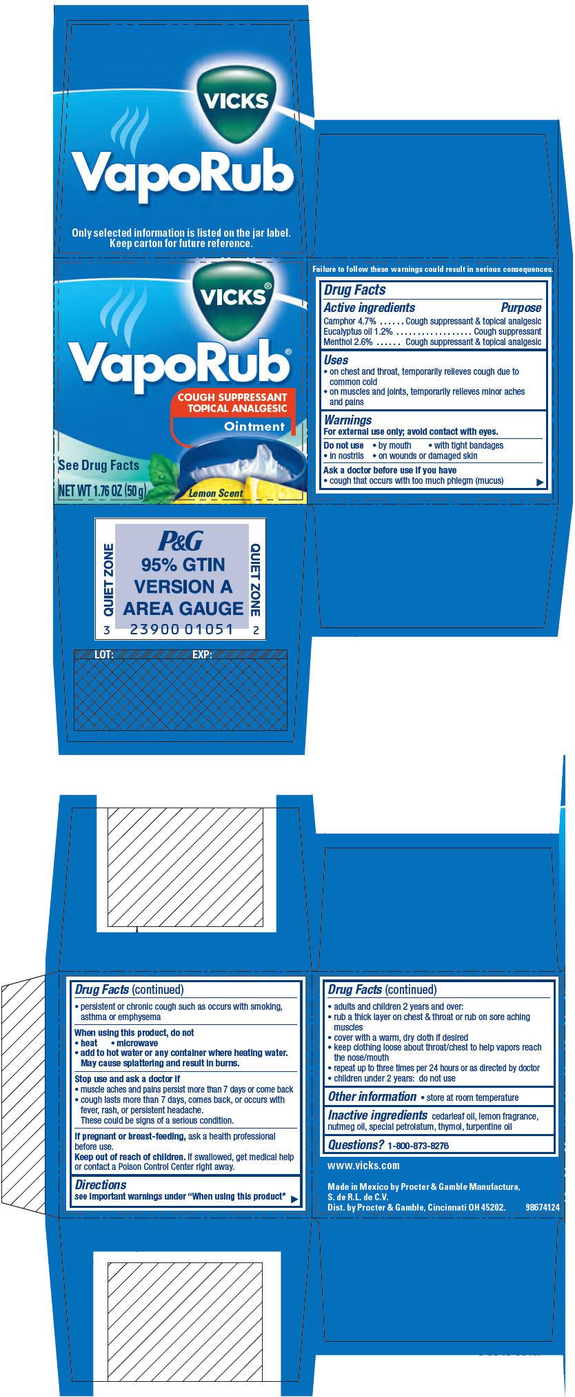 Principal Display Panel - 50 g Jar Carton