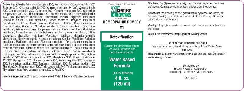 1 Detoxification