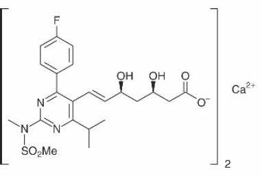 rosuvastatin-calcium-structure