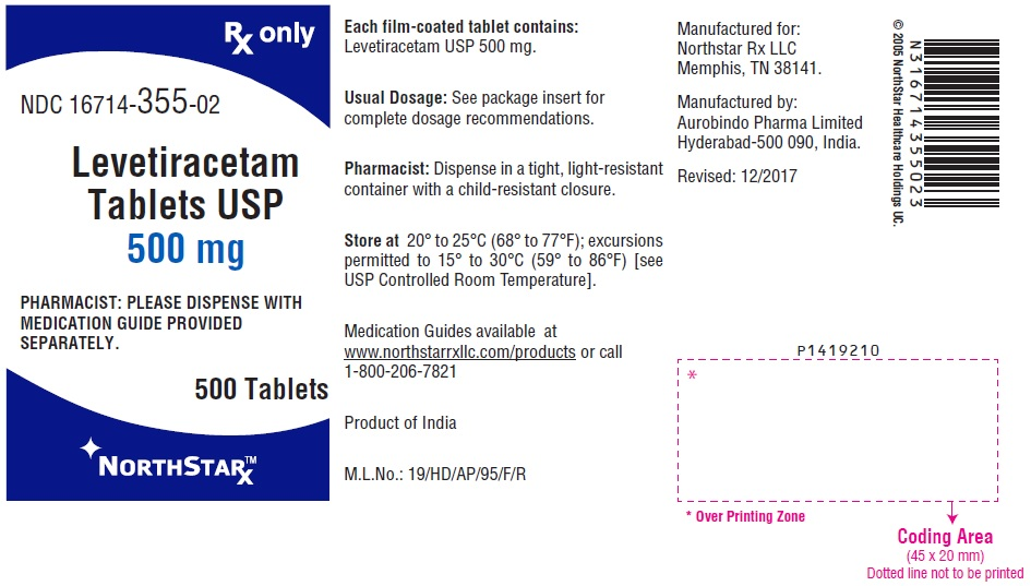 PACKAGE LABEL-PRINCIPAL DISPLAY PANEL - 500 mg (500 Tablets Bottle)