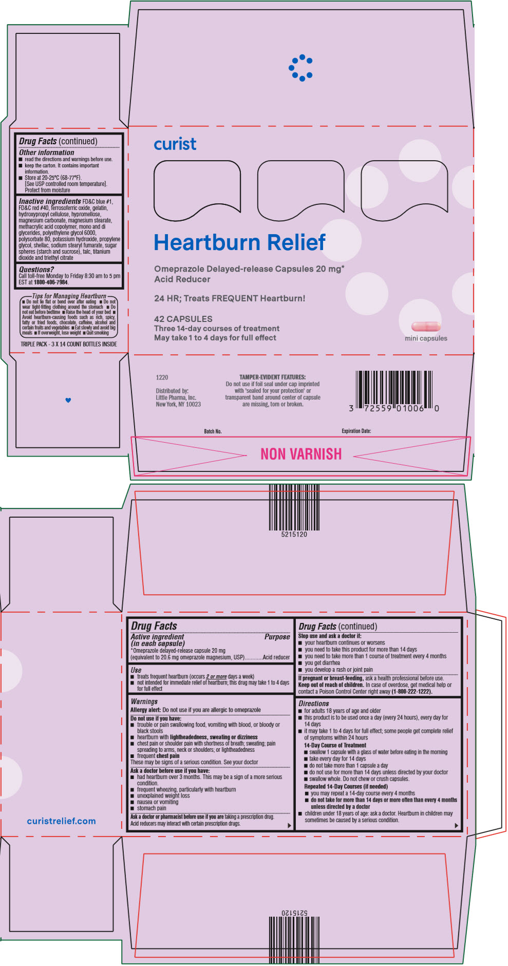 PRINCIPAL DISPLAY PANEL - 20 mg Capsule Carton