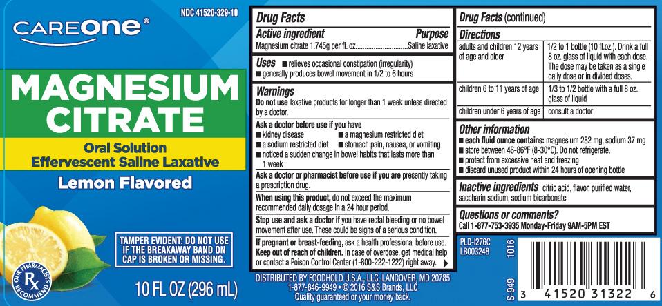 Magnesium Citrate 1.745g per fl. oz