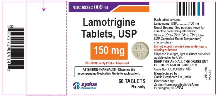 Lamotrigine Tablets USP, 150 mg