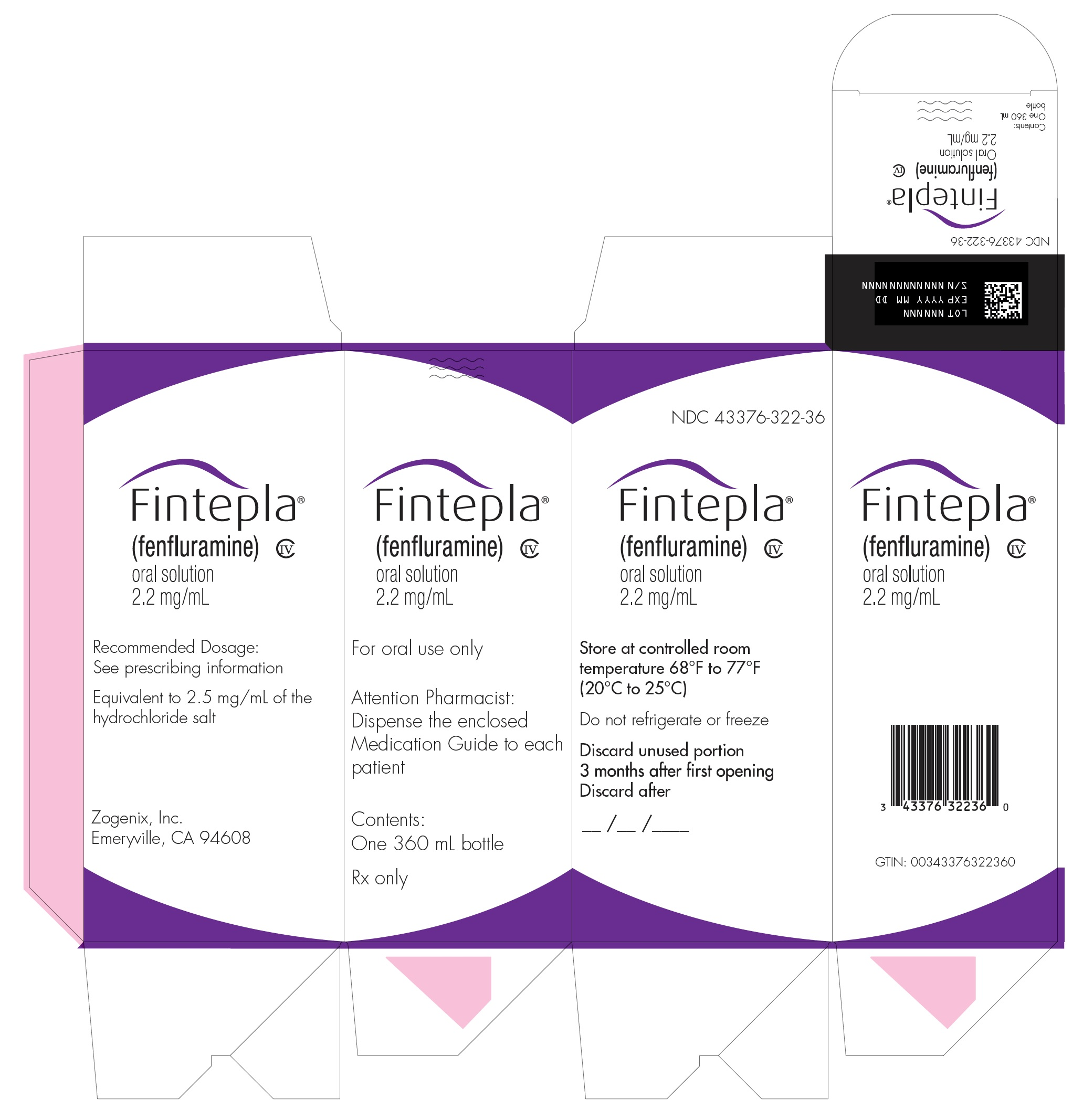 360 mL Carton Label