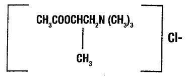 methacholine formula