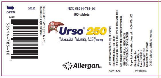 Principal Display Panel - Urso 250 Bottle Label