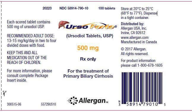 Principal Display Panel - Urso 500 Bottle Label
