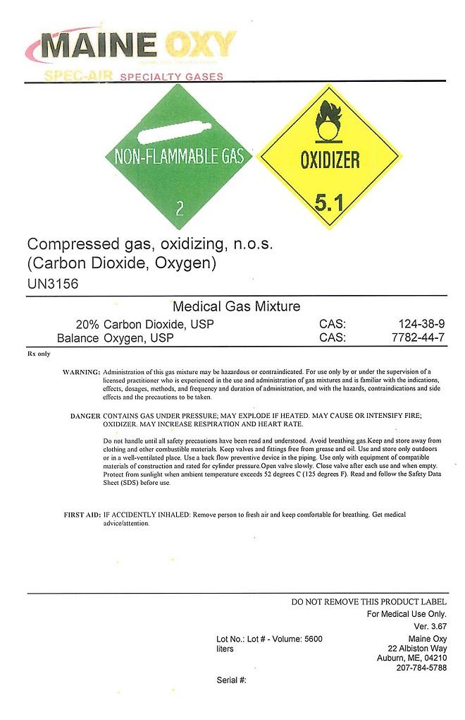 carbon dioxide oxygen mix one