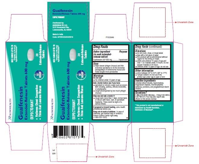 PACKAGE LABEL-PRINCIPAL DISPLAY PANEL - 600 mg (20 Tablet Carton Label)