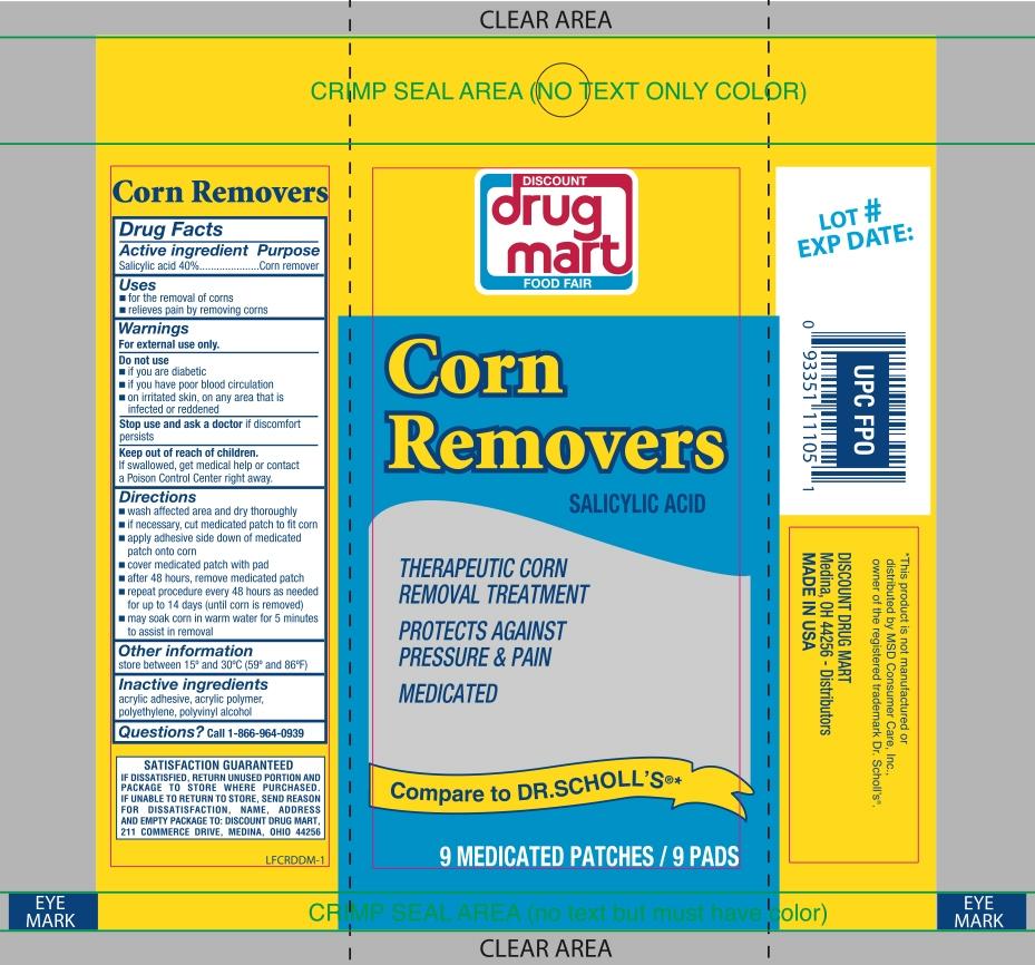 Discount Drug Mart Corn Removers