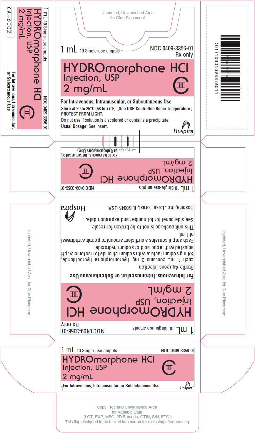 PRINCIPAL DISPLAY PANEL - 2 mg/mL Ampule Box