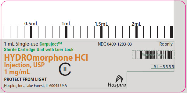 PRINCIPAL DISPLAY PANEL - 1 mg/mL Cartridge Label